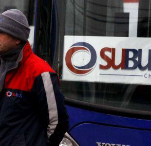 Subus: la continuidad del servicio en Transantiago depende del Ministerio de Transportes
