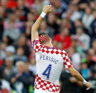 [FOTOS] El vistoso look del croata Perisic que se ha robado las miradas en la Eurocopa