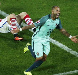 Portugal avanza a cuartos de la Euro 2016 tras vencer a Croacia con un agónico gol