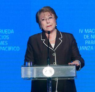 Michelle Bachelet: La globalización ha afectado los índices de desigualdad