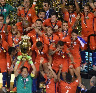 La Roja celebra junto a los chilenos su título de Copa América Centenario