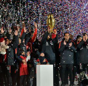 Bicampeones celebraron junto al público en triunfo en Copa América