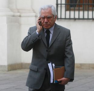El ministro del Interior, Mario Fernández