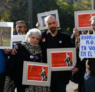 [FOTOS] Conmemoran 30 años de la muerte de Rodrigo Rojas de Negri