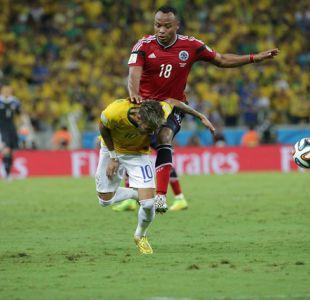 Neymar revela que estuvo cerca de dejar el fútbol tras falta de Zúñiga en Mundial de Brasil