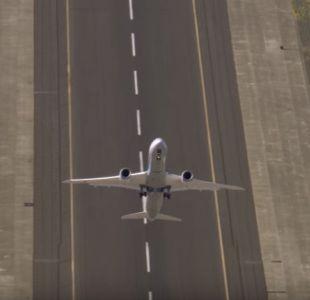 [VIDEO] El nuevo Boeing 787-9: El avión que despega en forma vertical
