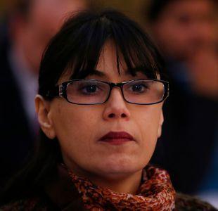 La ministra de Justicia, Javiera Blanco