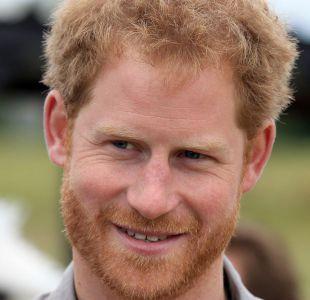 El Príncipe Harry se hizo una prueba en vivo de VIH