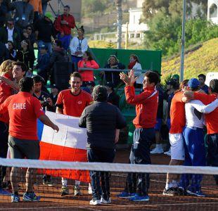 Chile busca vencer a Colombia para acceder al repechaje del Grupo Mundial de la Copa Davis