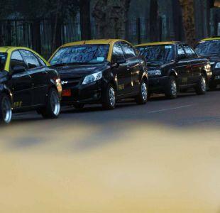 Taxistas realizan nueva protesta contra Uber