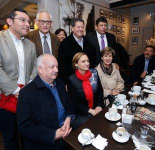 Nueva Mayoría inscribió a candidatos a alcalde