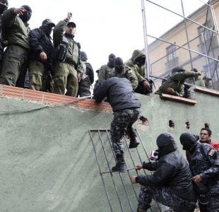 Dos reos argentinos y uno chileno se fugan de cárcel boliviana