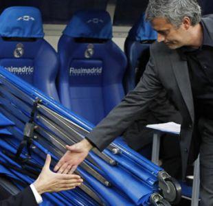 Primer duelo Guardiola-Mourinho en espera: Lluvia cancela amistoso City-United