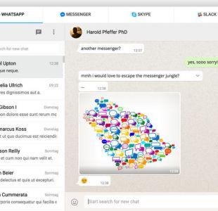 La útil aplicación que une Messenger, WhatsApp y Hangouts en un solo lugar
