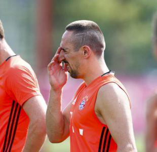 Bayern Munich reprende al francés Ribery por sus críticas a Guardiola