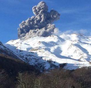 Volcán Nevados de Chillán registra pulso eruptivo, pero mantiene Alerta Amarilla