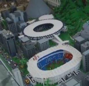 Lego reprodujo la sede olímpica de Río 2016