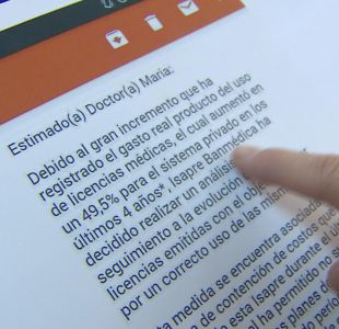 Polémica por licencias: Colegio Médico acusa amedrentamiento por parte de algunas isapres