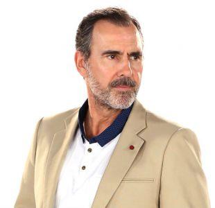 """Cristián Campos y su look para """"Preciosas"""""""