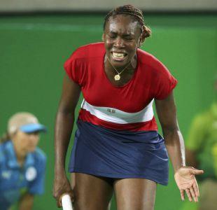 Sorpresa en el tenis olímpico: Venus Williams es eliminada en primera ronda