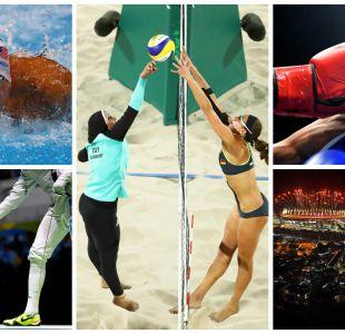 [FOTOS] Las fotos emblema de los primeros días de Río 2016