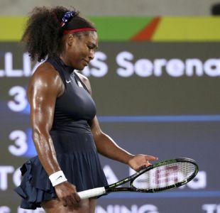 Serena Williams es eliminada en tercera ronda del torneo olímpico de tenis