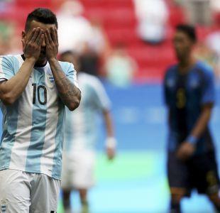 Argentina eliminada en fútbol de Río 2016 tras empatar con Honduras