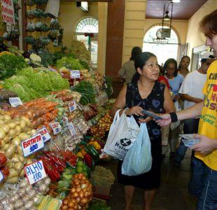 Precio de los alimentos alcanza su nivel más alto en 15 meses