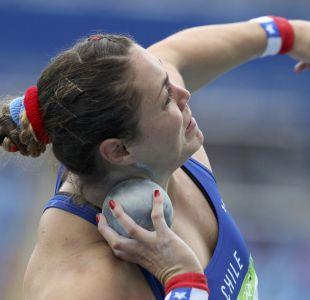 Natalia Duco termina décima en final del lanzamiento de bala en Río 2016