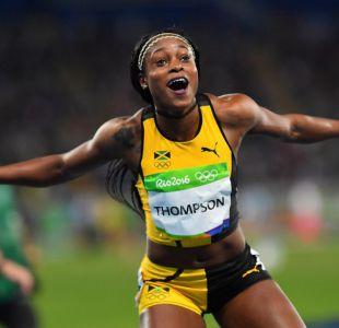 [FOTOS] Jamaicana Elaine Thompson es la nueva reina del atletismo en Río 2016