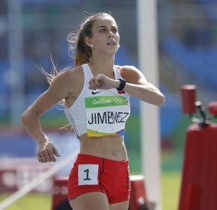 """Isidora Jiménez tras su actuación en Río: """"Estoy feliz de tener roce con este nivel de atletas"""""""