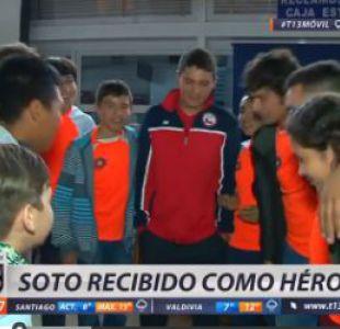 [VIDEO] Ricardo Soto es recibido como héroe en Arica tras su brillante participación en Río 2016