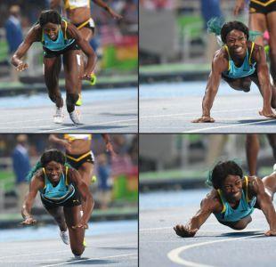 [FOTOS] Las postales que dejó la corredora que ganó el oro con un clavado