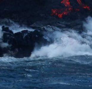 [VIDEO] La surfista Alison Teal intentó surfear a los pies de volcán en erupción