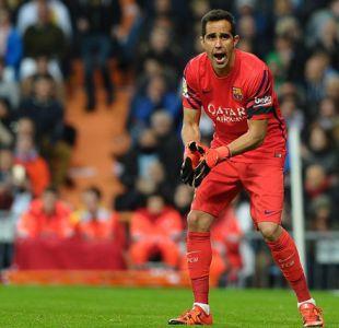 [FOTOS] Con esta atajada Claudio Bravo se luce en partido de FC Barcelona ante Sevilla