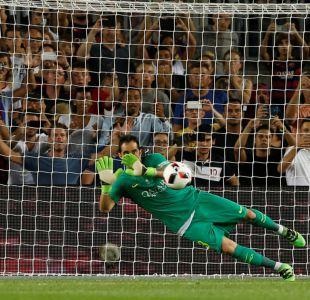 Piqué y Jordi Alba apostaron 20 euros por el penal que atajó Bravo