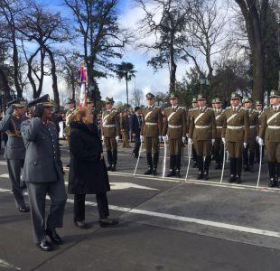 Presidenta Bachelet conmemora natalicio de Bernardo OHiggings en Chillán Viejo