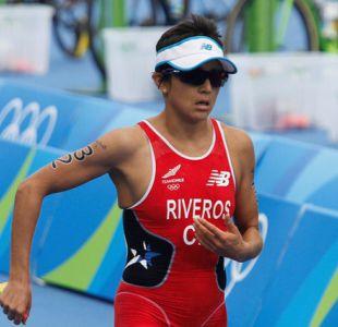 [FOTOS] Las mejores postales de Bárbara Riveros en el triatlón de Río 2016