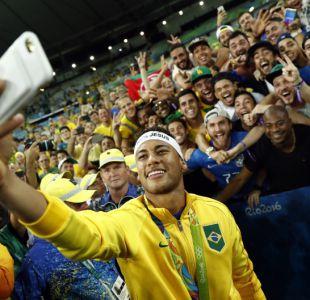 [FOTOS] Así festejó Neymar y Brasil su primera medalla de oro en el fútbol olímpico