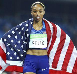 Allyson Felix gana su sexto oro olímpico en victoria de Estados Unidos en relevos 4x400