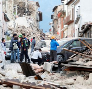 Hasta ahora no hay chilenos entre los muertos por terremoto en Italia