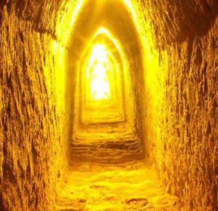 La pirámide puede ser explorada a través de 8 kilómetros de túneles.