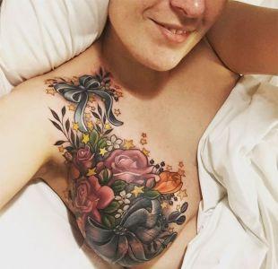 El tatuaje de una mujer con cáncer de mama que se volvió viral en internet