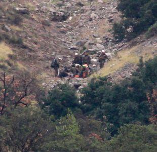 Encuentran cuerpo sin vida de joven perdida desde el sábado en el cerro Manquehue