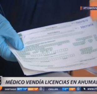 Detienen a médico que vendía licencias en pleno Paseo Ahumada