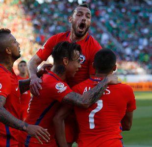 Los partidos que tiene que ganar La Roja para clasificar a Rusia 2018