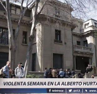 [VIDEO] Violenta semana en la UAH: ¿Qué fue lo que sucedió?