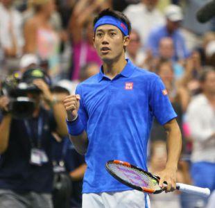 Nishikori baja del US Open a Murray y se instala en semifinales