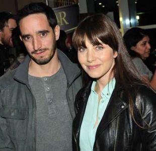 Monica Godoy y Nicolás Saavedra