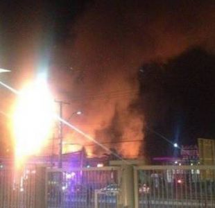 Un incendio afectó a la excasa de la cultura en La Cisterna